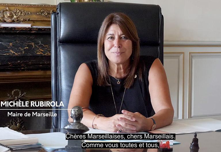 Michèle Rubirola annonce une opération de dépistages gratuits dans toute la ville